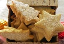 Receita de Bolachas de Baunilha e Manteiga