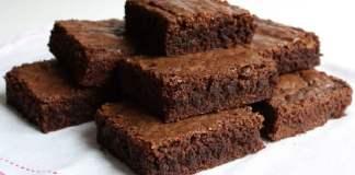 Receita de Brownie de Chocolate Light