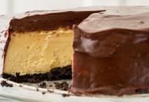 Receita de Cheesecake Baileys