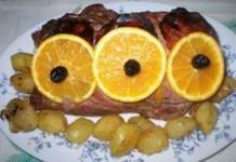 Receita de Lombo de Porco Recheado