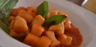 Receita de Nhoque Light com Molho de Tomate