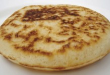 Receita de Pão caseiro de frigideira