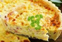 Receita de Torta de Pizza integral sem farinha