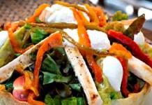 Receita de Salada Maya