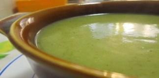 Receita de Sopa de Courgettes (com Abóbora e Pinhões)