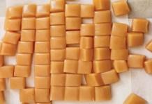 Receita de Toffee de Caramelo Caseiro