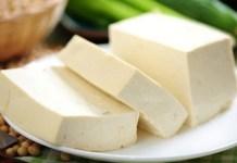 Receita de Tofu (queijo de soja)