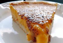 Receita de Torta Brûlée de Limão