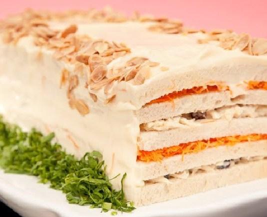 Receita de Torta Fria