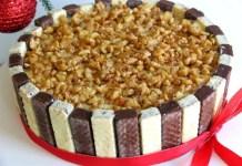Receita de Torta Gelada De Bis
