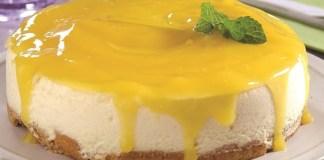 Receita de Torta de mousse de maracujá para diabéticos