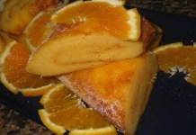 Receita de Torta doce de batata com laranja
