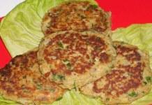 Receita de Hambúrgueres de Atum