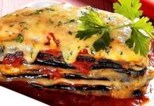 Receita Lasanha de berinjela à Napolitana