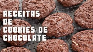 Receitas da TV Cookies de chocolate