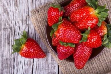 Morango 10 alimentos para emagrecer