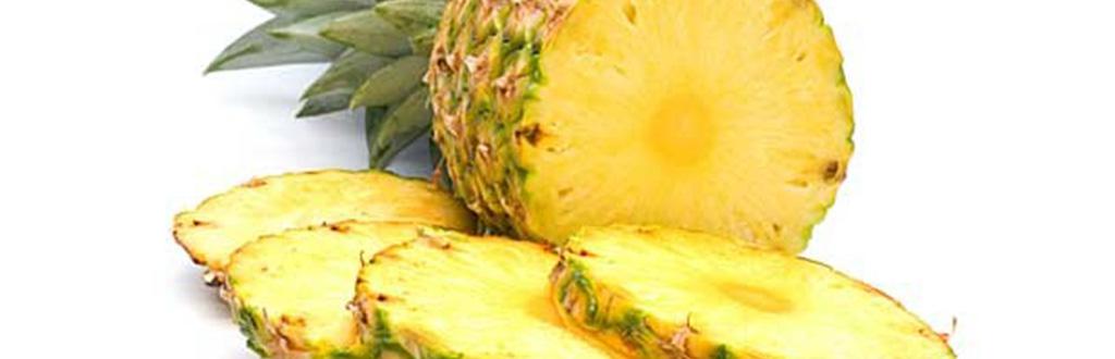 Resultado de imagem para abacaxi inteiro cortado em rodelas