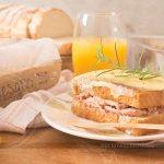 Torta Sanduíche de Pernil