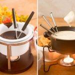 Como Fazer Fondue de Queijo e Chocolate