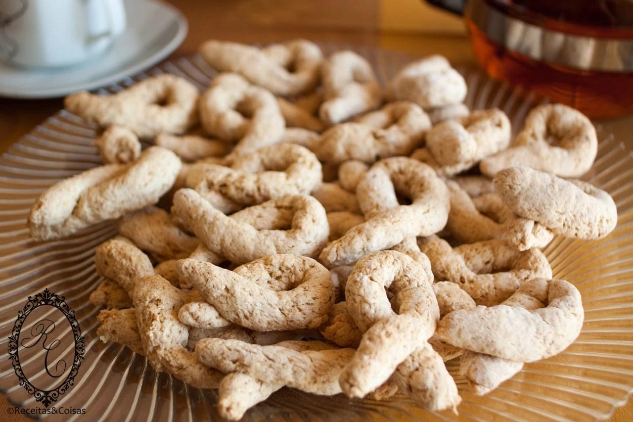 Biscoitos de canela Sem Glúten e Sem Lactose