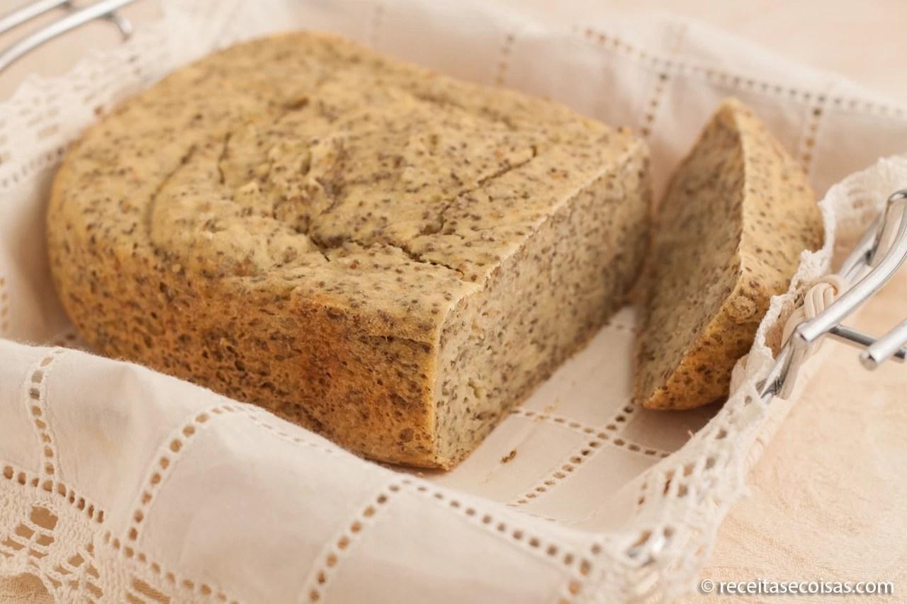 Pão Sem Glúten e Sem Lactose com sementes de Chia para MFP