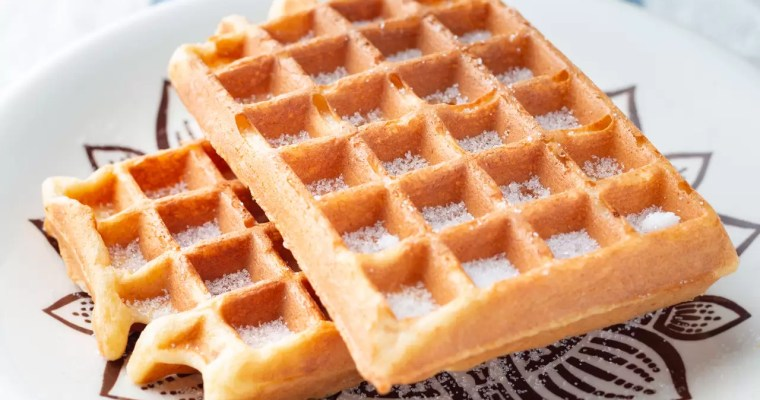 Waffles sem glúten express