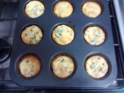 Como Fazer Mini Omeletes de Forno
