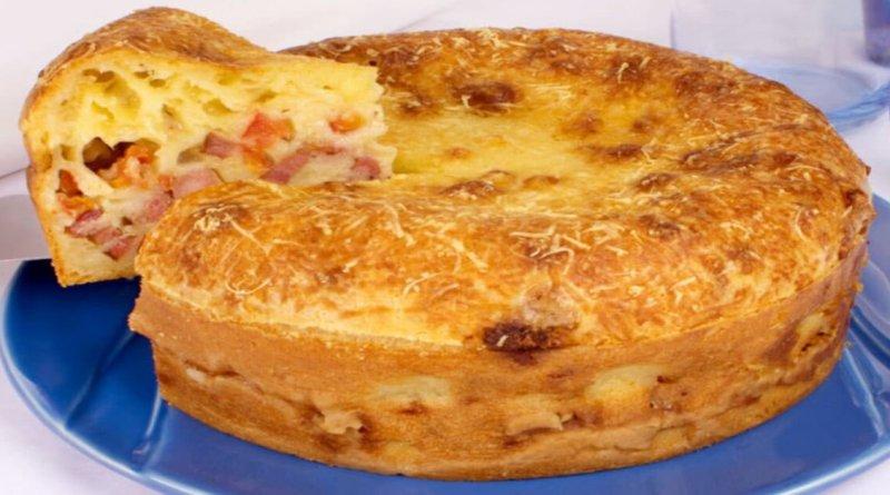 Torta-pão de queijo