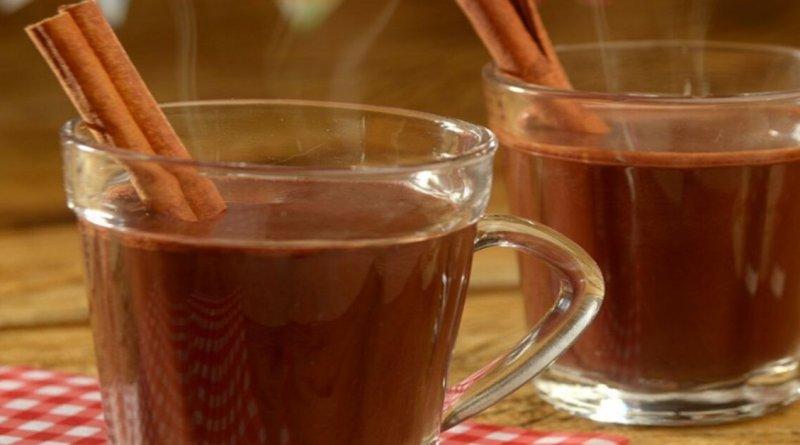 Quentão de chocolate cremoso