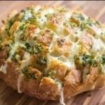 pão italiano gratinado