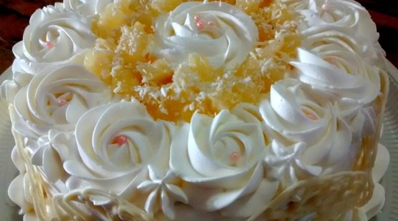 Well-known Arquivos bolo de abacaxi recheado tudo gostoso - Receitas para Bolo QC53