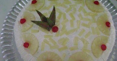 bolo delicia de abacaxi