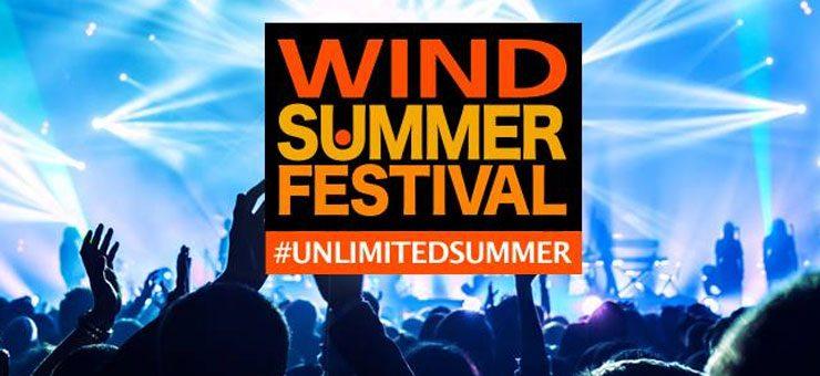 Stasera la terza puntata del Wind Summer Festival - Ospiti