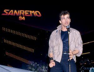 Eros Ramazzotti Sanremo 1984