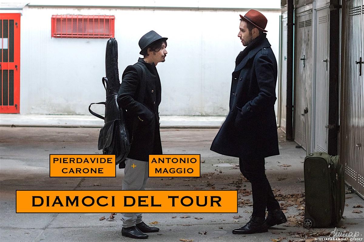 """""""Diamoci del Tour"""", in viaggio con Antonio Maggio e Pierdavide Carone - INTERVISTA DOPPIA"""