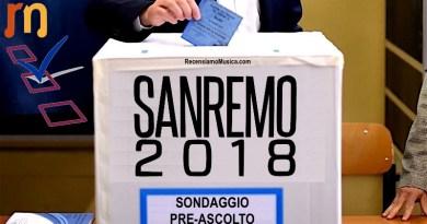 Sondaggio Sanremo - PreAscolto