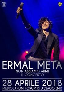 Ermal Meta - Non abbiamo armi tour
