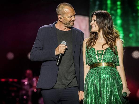 """Laura Pausini pubblica """"Il coraggio di andare"""" insieme a Biagio Antonacci"""