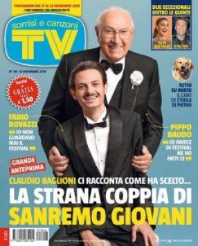 Pippo Baudo e Fabio Rovazzi