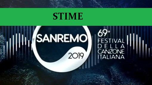 Speciale stime di vendita dei brani di Sanremo 2019 al 15 febbraio