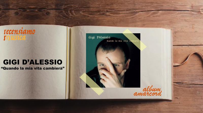 """Gigi D'Alessio, vent'anni di """"Quando la mia vita cambierà"""""""