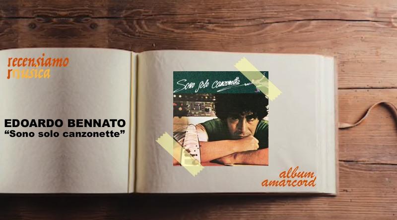 """Edoardo Bennato, quarant'anni di """"Sono solo canzonette"""""""