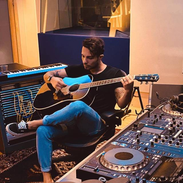 Marco Carta Studio di registrazione