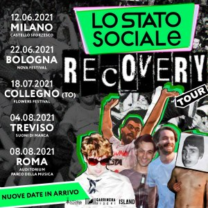 Lo Stato Sociale - Recovery Tour