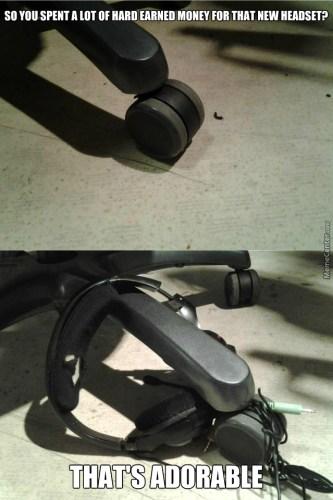 headset meme cavi
