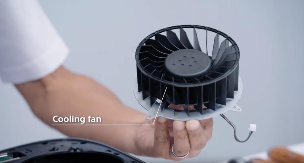 sony ps5 fan