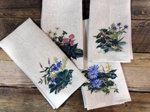 Wildflowers-on-Twill-Linen