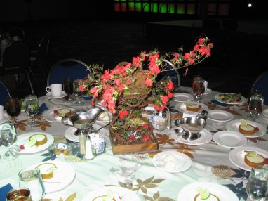 Rebar Centerpiece for GaMPI Luncheon