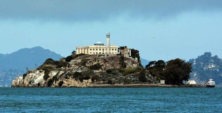 ALCATRAZ FEDERAL PENITENTIARY, CALIFORNIA
