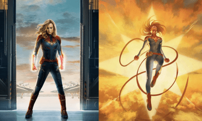 Captain Marvel now gets a new origin story in comics ahead of the big-screen debut!